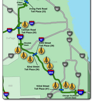 Tower And Fiber Leasing - Illinois Tollway
